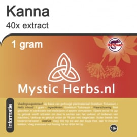 Kanna 40x extract 1gram