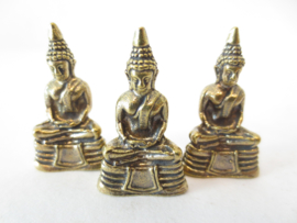Bronzen Mediterende Boeddha