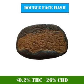 CBD Hash - 1 gram Double Face  Hash - 26% CBD