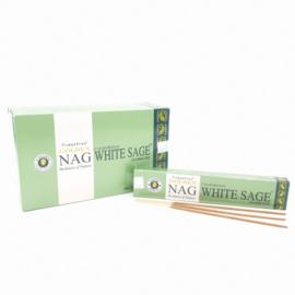GOLDEN NAG WHITE SAGE 15 GRAM WIEROOK