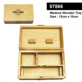 Orginele Middelgrote houten Rollade 15cm x 10cm