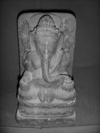 stenen beeld Ganesha 20cm