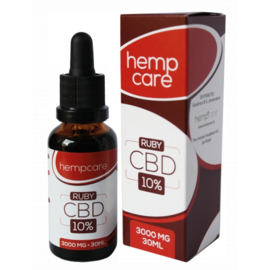 Hempcare - CBD Oil  - RUBY 10% CBD - 30ml Full Spectrum