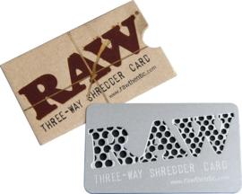 cr 17a RAW Credit Card Grinder