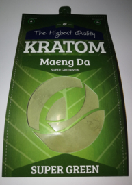 Kratom Maeng da  Green 100gr