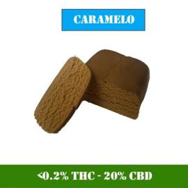 1 gram CBD Hash - Caramelo Hash - 20% CBD