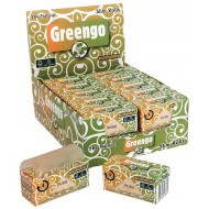 Greengo Slim Rolls Dispay, papel para cigarrillos de 4 m