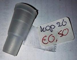 Gummi Shishaslang Mondstuk 3.5cm
