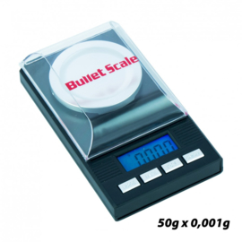 W25 Bullet Digital Pocket Scale Black 50gx0,001g