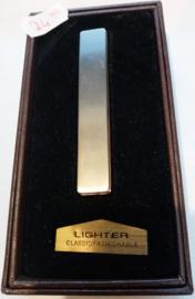 Novi Metal USB-aansteker,  zilver titanium