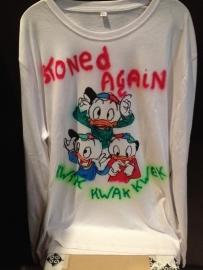 kwik,kwak en kwek t-shirt, bedrukt t-shirt