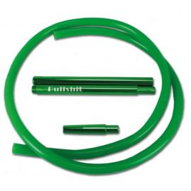 tubo silicone Shisha verde 1,95 mtr