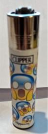 emoticon, oh my god, CLIPPER® aansteker