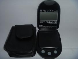 W 11 My Weigh Flipscale, weegschaal zwart 125-0,05gr