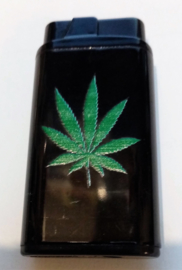 Mooie Platte Cannabis Aansteker