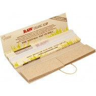RAW Organic Connoisseur KS Slim + Tips, 32 BLADEREN