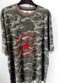 T-shirt i bomuldshær med tryk