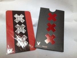 cr 17 molinillo de tarjeta de crédito triple X