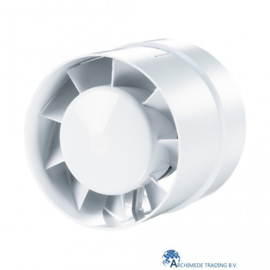 VENTS 125 VKO TURBO AXIAAL VENTILATOR Ø 125 MM + 129 MM / 243 M³