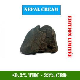 CBD Hasj | Nepal Crème | 33% CBD 1 gram