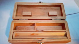 Rollo de madera de tamaño mediano original 15 cm x 6 cm