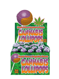 CANNABIS LOLLIPOPS PURPLE HAZE X TANGERINE DREAM