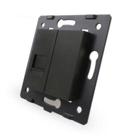 Livolo | Module | SR | Telefoon aansluiting enkelvoudig | Zwart