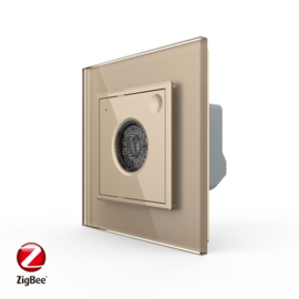 Livolo | SR | Goud | Licht en Geluid sensor | Zigbee/wifi app