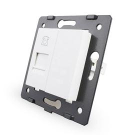 Livolo | Module | SR | Telefoon aansluiting enkelvoudig | Wit