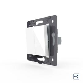 Livolo | Module | SR | Standaard | Wisselschakelaar tweevoudig | Wit