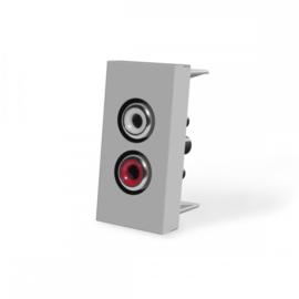 Livolo | Frame | Enkel | Audio | Grijs