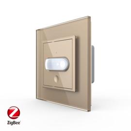 Livolo | SR | Goud | Bewegingsmelder schakelaar | Zigbee/wifi app