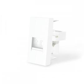 Livolo | Frame | Enkel | Telefoon - RJ11 | Wit