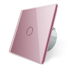 Livolo | Roze | Enkelpolige schakelaar