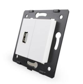 Livolo | Module | SR | USB aansluiting enkelvoudig | Wit