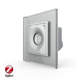 Livolo | SR | Grijs | Temperatuur en Luchtvochtigheid sensor | Zigbee/wifi app