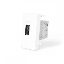 Livolo | SR | Enkel | USB 2.1A | Wit
