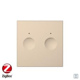 Livolo | Module | SR | Goud | Rolluik schakelaar | Zigbee/wifi app