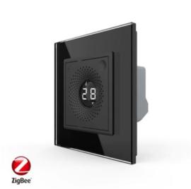 Livolo | SR | Zwart | Temperatuur en Luchtvochtigheid sensor | Zigbee/wifi app
