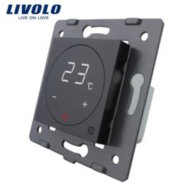 Livolo | Module | Zwart | Thermostaat schakelaar CV / Vloerverwarming
