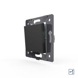 Livolo | Module | SR | Standaard | Wisselschakelaar enkelvoudig | Zwart