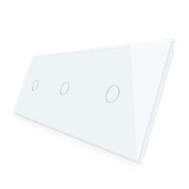 Livolo | Glasplaat | 1+1+1 | Wit