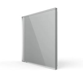 Livolo | Glasplaat | Blindplaat | Grijs