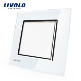 Livolo | Wit | Standaard | Enkelpolige schakelaar