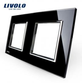 Livolo | Glasplaat | D+D | Zwart