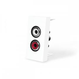 Livolo | Frame | Enkel | Audio | Wit