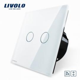 Livolo | Wit Rolluik Schakelaar | Afstandbediening