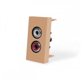 Livolo | Frame | Enkel | Audio | Goud