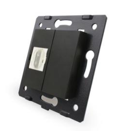 Livolo | Module | SR | HDMI aansluiting enkelvoudig | Zwart