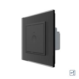 Livolo | SR | Zwart | Enkelvoudige wisselschakelaar